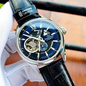 Orient Automatic 41mm Blue Luminous Watch! NIB!